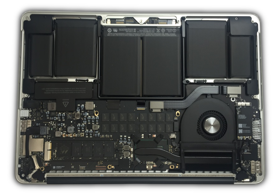 "Used Macbook Pro >> Find the part you need for the MacBook Pro 13"" (A1502) - Mid 2014 in the External Front View"