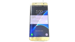 Samsung Galaxy S7 Edge SM-G935A, AT&T, Gold, Cracked Glass