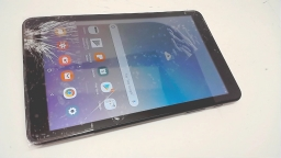 "Samsung Galaxy Tab A 8"" 32GB Tablet, SM-T387V, Black, Verizon, Cracked"