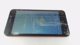 Ultra J8 Cellphone (Red 8GB) Unlocked Dual Sim CRACKED GLS