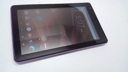 "RCA Voyager 7"" 16GB Tablet, RCT6873W42, Purple"