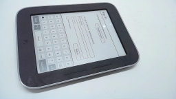 "Barnes & Noble Nook Simple Touch with Glowlight 6"" eReader, BNRV350, Spot on LCD"