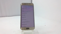 Samsung Galaxy S6 Edge SM-G925T, T-Mobile, Gold, Cracked