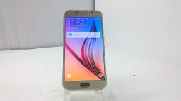 Samsung Galaxy S6 SM-G920I, Unknown Carrier, Gold, Cracked, BAD BOARD
