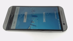 HTC One M8 6525LVW (Gray 32GB) Verizon, BAD BOARD SCRATCHES/BENT BY VOL BTN