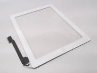 White Touch Screen Glass Digitizer Replacement For The New iPad 4 4th Gen