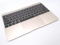 "MacBook 12"" Retina Top Case with Keyboard, Gold"