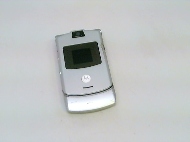 AT&T Motorola RAZR V3 No Contract Cell Phone, Silver, See ...
