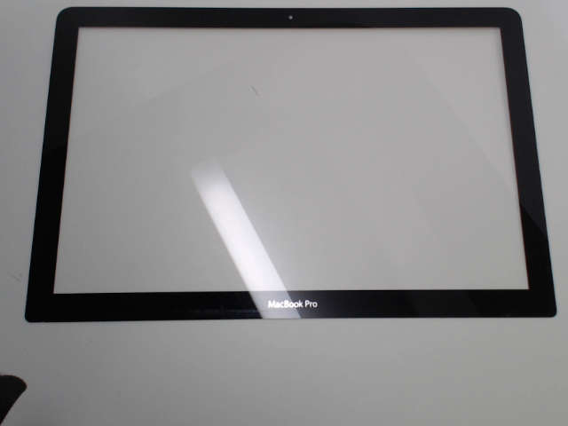 Used Macbook Pro >> Unibody Macbook Pro Glass Screen Cover Replacement - Front Bezel - 13 Inch