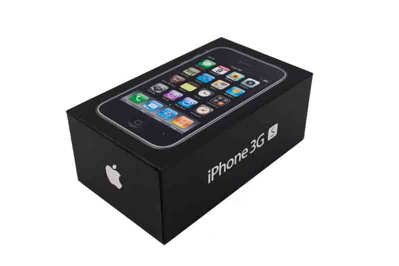 Original Black Box For IPhone 3GS