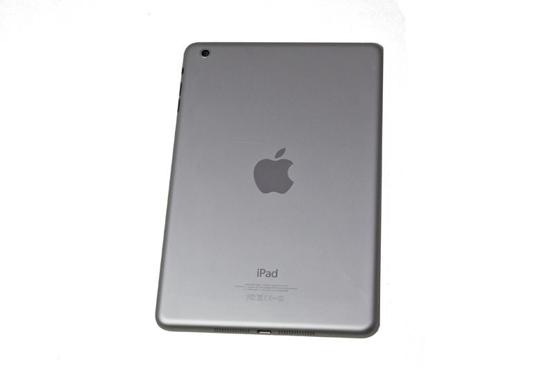 ipad mini cover rear entire housing silver