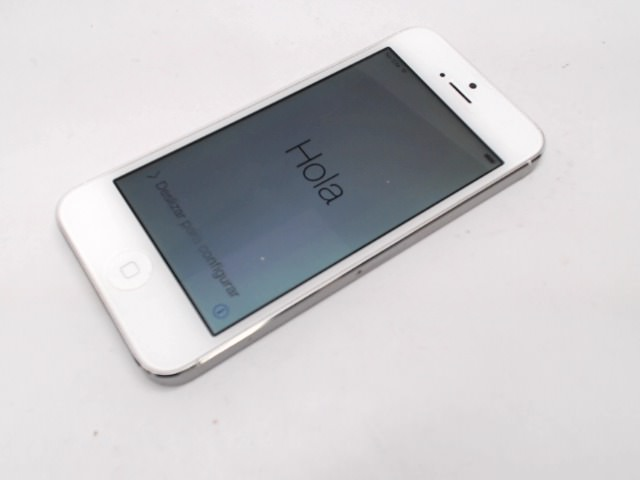 Apple Iphone 5 16gb White T Mobile Discolored Lcd