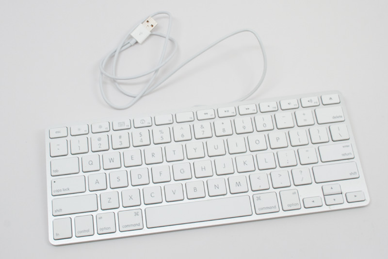 apple ultra thin aluminum usb keyboard