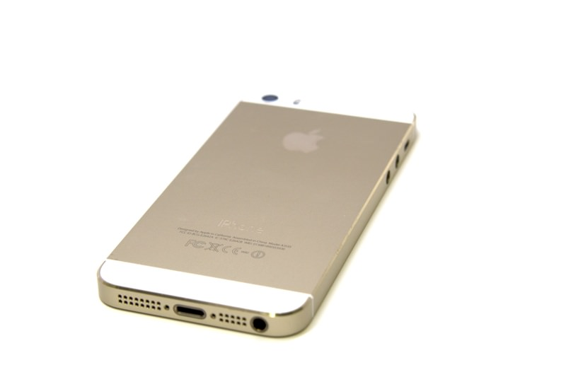 IPhone 5s Replacement Back Rear Housing Battery Cover White Gold