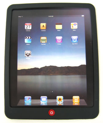 ipad silicon case black