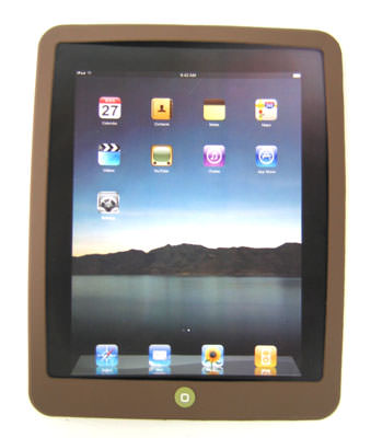 ipad silicon case brown