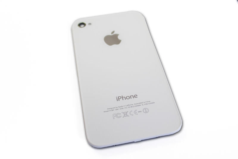 new arrival c28a4 9c31c iPhone 4S Back Glass Cover Replacement - White