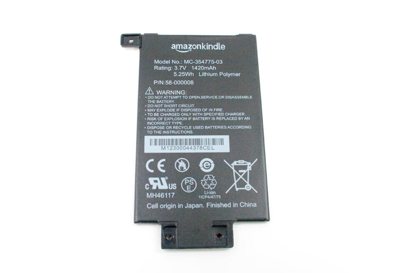 Amazon Kindle Paperwhite Battery