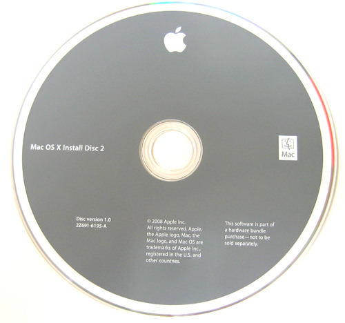 Macbook Pro Restore Cd With Mac Os X V10 5 Leopard