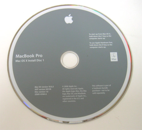 Os X Install Disc For Macbook Pro