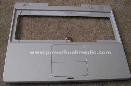 """New OEM Top Case 922-6013 w// Keyboard 922-6105 for PowerBook G4 15/"""" A1046 A1095"""