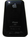 iPhone 3GS Back Case Black
