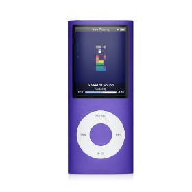 Apple iPod nano 4th Gen 8 GB Purple Heavy Wear