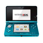 Nintendo 3DS Aqua Blue - Won't Power On