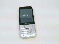 BLU Diva X, Unlocked Silver Bar Phone