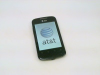 AT&T Fusion 2 Huawei U8665 Black Android 3G Smartphone, Cracked Screen