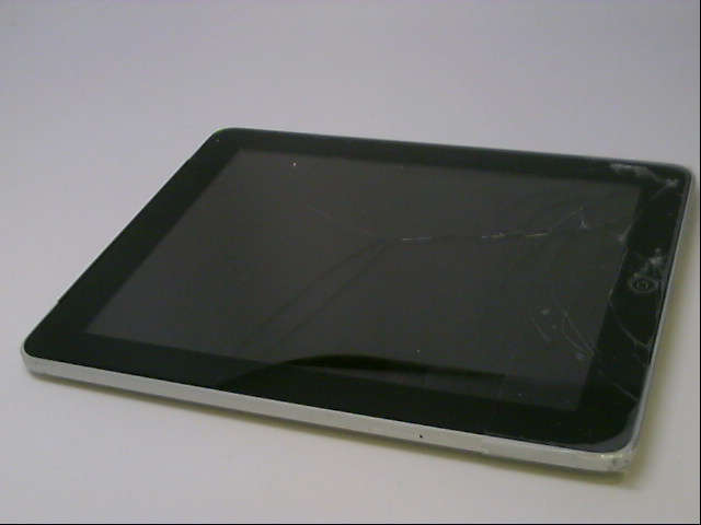 Apple iPad (First Generation) MC497LL/A Tablet (64GB, Wifi + 3G), MC497LL/A, 64GB, Cracked