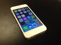 iPhone 5 16GB, White, Japan, MD298J, Softbank