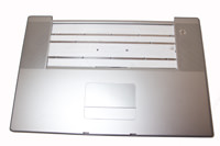 "Top Case Trackpad Assembly 17"" Powerbook G4 Aluminum"