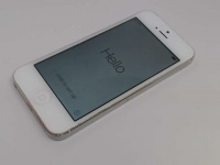 Apple iPhone 5 64GB, White, 64GB, ME044J/A, KDDI, Damaged LCD