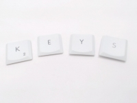 White iBook G4 Keys - Individual Key Keycap