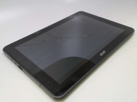 Acer Iconia A200-10g16u 10.1-Inch Screen Tablet - Titanium Gray, Cracked