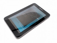 Lenovo Ideapad A1 22282EU 7-Inch Tablet (Black), No Rear Top Casing, Cracked