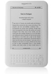 "Kindle 3 White Wi-Fi + 3G - 6"" E-Ink Display"