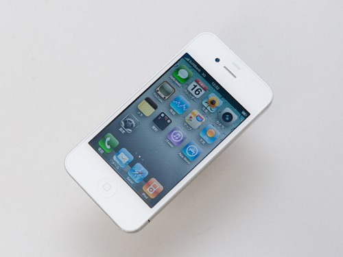 iPhone 4s 16GB Sprint White (A1387), BAD ESN