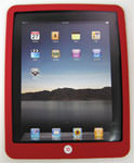 iPad Silicon Case Protector - Red