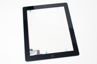 iPad 2 Glass with Digitizer Black