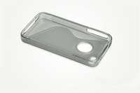 iPhone 4 Frosted TPU Case with Textured Grip