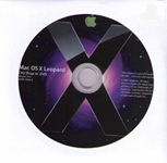 Mac OS X v10.5 Leopard Upgrade DVD