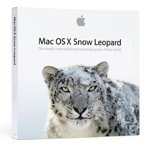Mac OS X v10.6 Snow Leopard Upgrade DVD