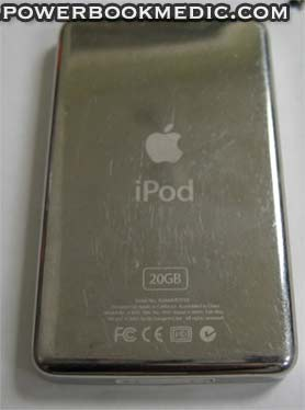iPod 4th Generation Back Case Panel 40GB