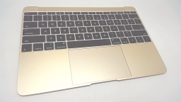 "MacBook 12"" Retina Top Case with Keyboard, Gold, Mid 2017"