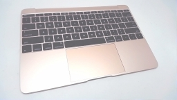 "MacBook 12"" Retina Top Case with Keyboard, Rose Gold, Mid 2017"