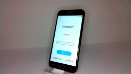 Samsung Galaxy J3 Eclipse SM-J327V, Verizon, Black, PARTS ONLY