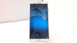 Huawei Nova Lite 2 FIG-LA1, Unknown Carrier White/Gold Cracked Glass, PARTS ONLY