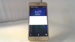 Motorola Moto G5 Plus XT1681, Unknown Carrier, Gold, PARTS ONLY